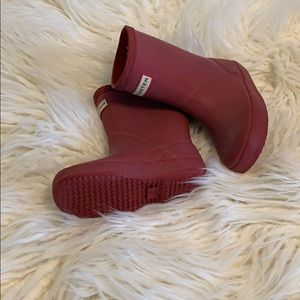 Hunter rain boots for toddlers